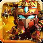 Superhero Fruit 2: Robot Fighting - Future War Icon
