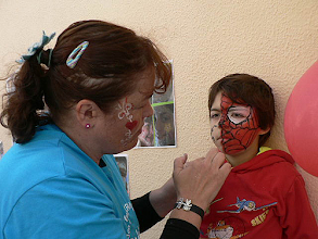 Photo: Pinturas faciais