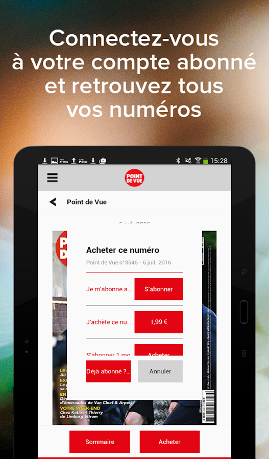 Point de vue magazine android apps on google play