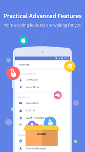 Power Clean - Anti Virus Cleaner and Booster App Screenshot