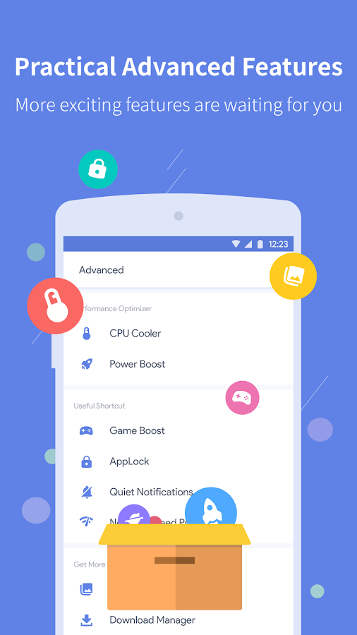 Power Clean - Antivirus Cleaner and Booster App- screenshot