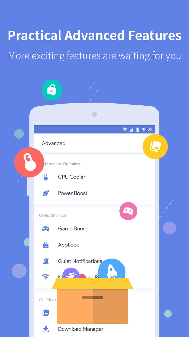 Power Clean - Antivirus & Phone Cleaner App Screenshot 5