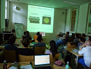 Photo: Brian O'Meara, from the University of Tennessee, gave an e-lecture on models of trait evolution.