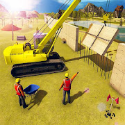 US Army Security Wall Construction Simulator Games