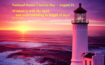 Photo: National Senior Citizens Day ~ August 21. Wisdom is with the aged, and understanding in length of days. Job 12.12 ESV.  Job 12 ESV; https://www.biblegateway.com/passage/?search=Job+12&version=ESV  Job 12 ESV Audio; https://www.biblegateway.com/audio/mclean/esv/Job.12  Image: North Head Lighthouse in Southwest of Ilwaco, Washington State, USA.  Location and Driving Directions North Head Lighthouse North Head Lighthouse Road; http://northheadlighthouse.com/mapdirections/  Keepers of the North Head Lighthouse PO Box K · Ilwaco, WA 98624; http://northheadlighthouse.com/
