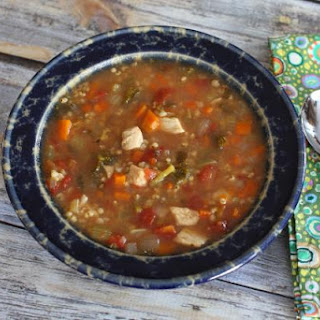 Slow Cooker Chicken and Sorghum Soup