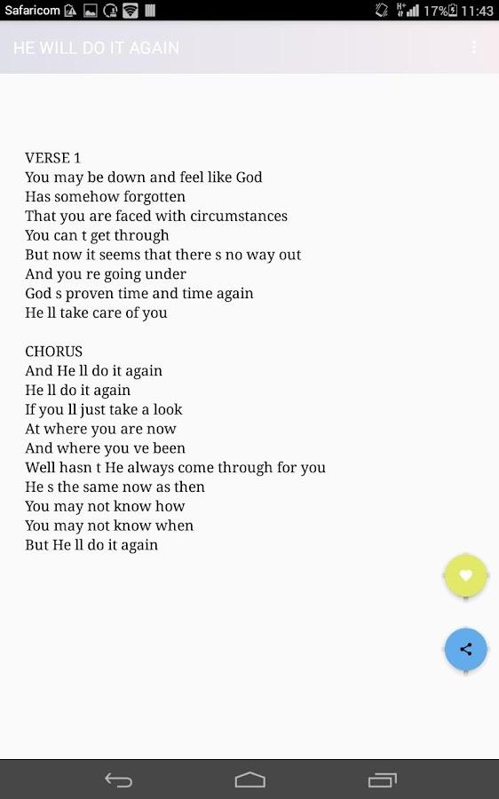 Lyric lyrics to same god : SHIRLEY CAESAR LYRICS - Android Apps on Google Play