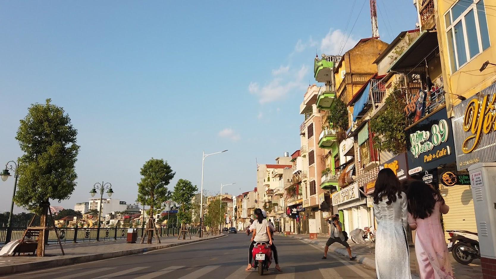Khu sông Tam Bạc - Phố đi bộ ở Hải Phòng 1
