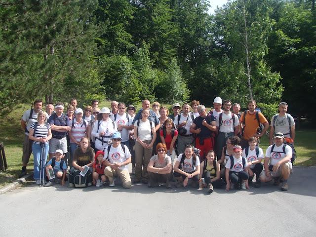 Oštri Medvjeđak i Plitvička jezera