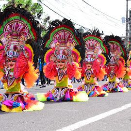 Masskara Festival by Helton Balairos - City,  Street & Park  Vistas (  )