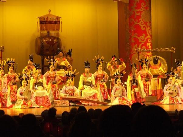 musical performances at Xi'an