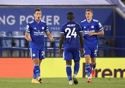 Timothy Castagne absent de la feuille de match avec Leicester