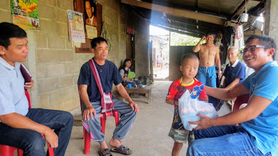 Photo: Home care visit to Wiang Haeng