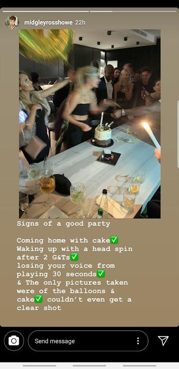 Rachel Kolisi birthday party