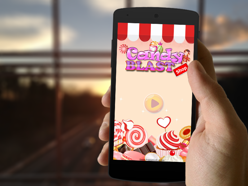 Candy Shop Blast- screenshot