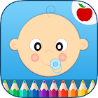 Baby's First Coloring Book icon