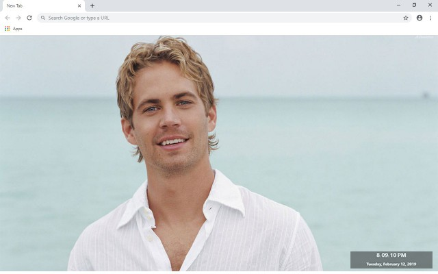 Paul Walker New Tab & Wallpapers Collection