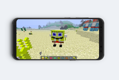 MAP Bikini Bottom For Minecraft PE : MCPE - náhled