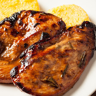 Grilled Chicken Breasts with Balsamic Rosemary Marinade.