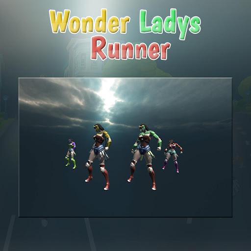 Wonder Lady Runner 1.6 screenshots 1
