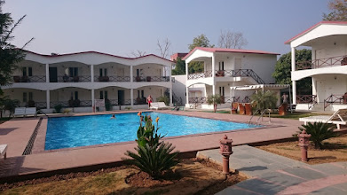Photo: our hotel at the ranthambhore tiger reserve