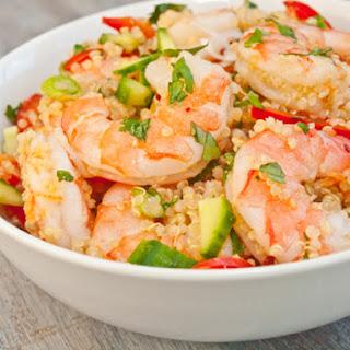 Vietnamese Shrimp and Quinoa Salad.
