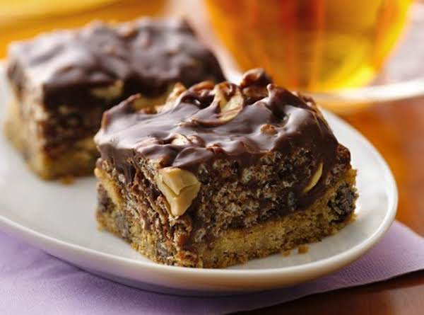 Caramel Cashew Bars Recipe