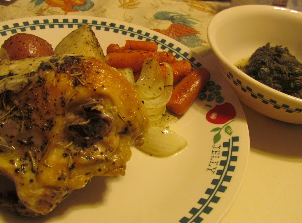 Herb Roasted Chicken And Vegetables By Rose Recipe