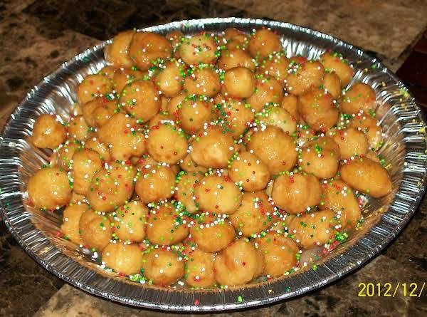 Struffoli-honey Balls Recipe