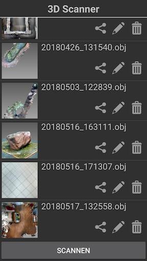 3D Scanner for ARCore 2019-07-02 screenshots 1