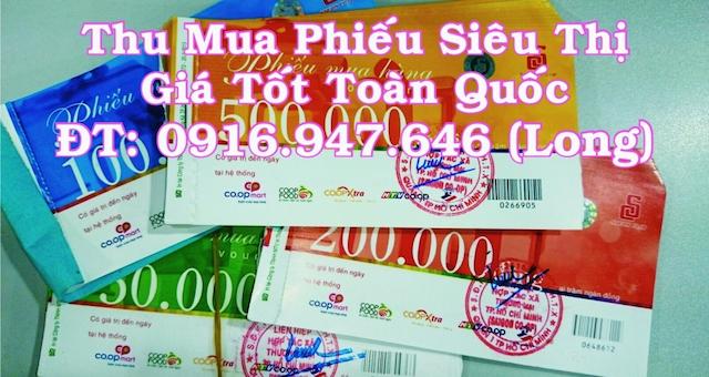 Hãy đến với thumuaphieusieuthi.com để dễ dàng bán phiếu coopmart với mức giá cao nhất