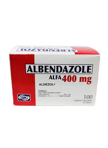 albendazol 400mg 1tableta blister alfa