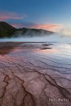 Photo: Lower Geyser Basin, Yellowstone National Park Wyoming (WY), USA