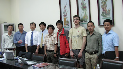 Photo: March 10 (Thursday) workshops at University of Science and Ho Chi Ming City University of Technology