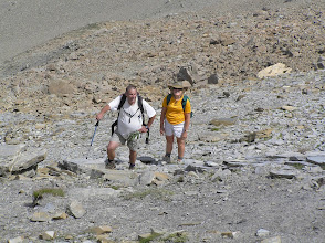 Photo: Ascension de l'aiguille d'Orcières, je me souvenais plus que c'était si haut !