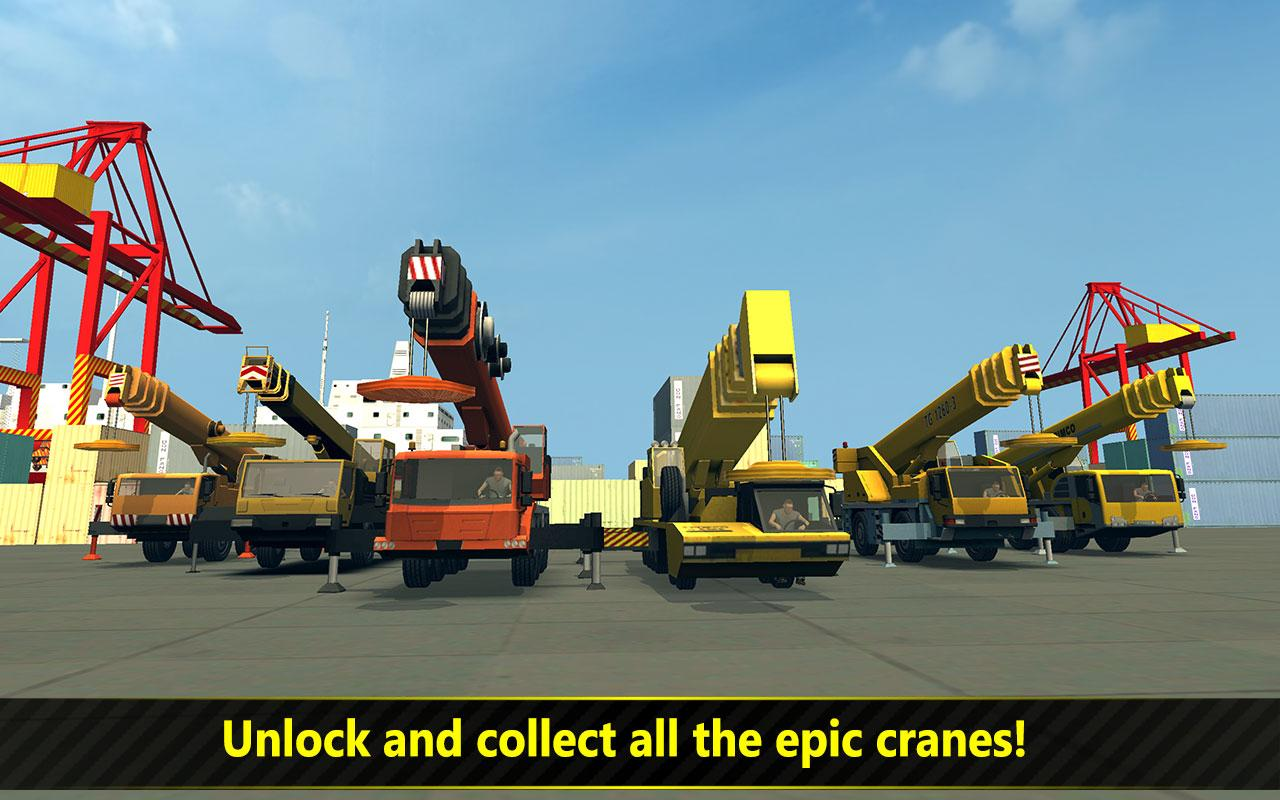Screenshots of Construction & Crane SIM 2017 for iPhone