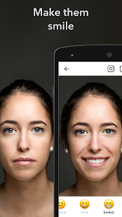 FaceApp – Miniaturansicht des Screenshots