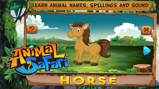 Animal Safari - Learn Animals