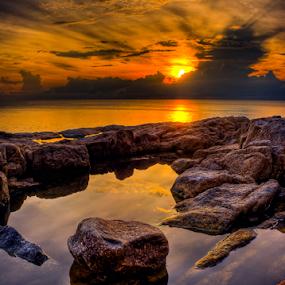 Golden Hour by Richard ten Brinke - Landscapes Waterscapes (  )