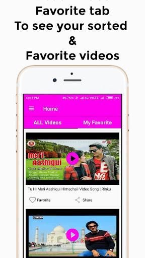 Himachali Video Songs : Himachali Video Gane 1.3 screenshots 2