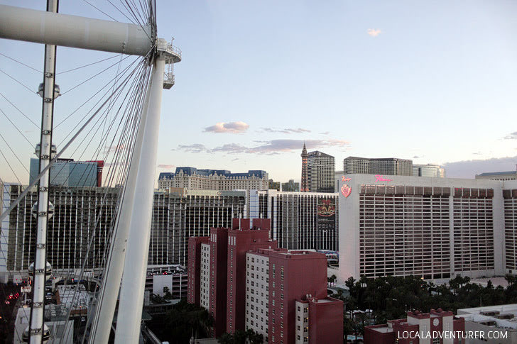 The High Roller Las Vegas - World's Biggest Ferris Wheel 2015.