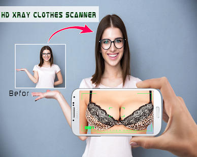 App HD Xray Clothes Scanner Joke APK for Windows Phone