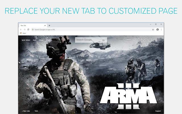 ARMA Wallpapers HD New Tab by freeaddon.com