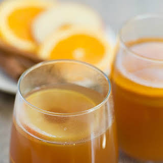 Hot Apple Cider Rum Punch.