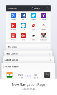 UC Browser - Surf it Fast- screenshot thumbnail