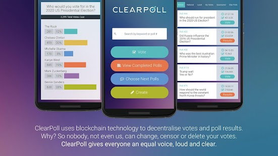 ClearPoll - Alpha (Unreleased)- screenshot thumbnail
