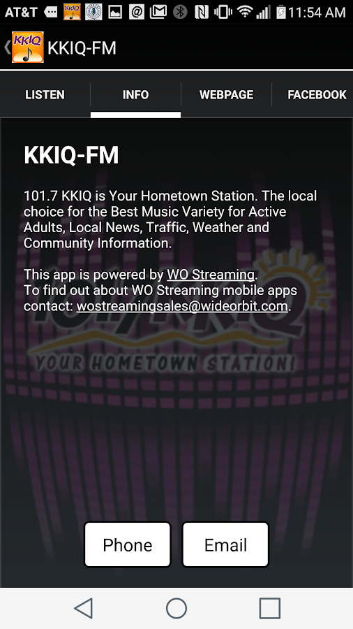 KKIQ Mobile Music- screenshot