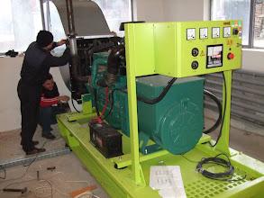 Photo: Generator Volvo 142 kva, Rezervele de Stat, Dridu, Ialomita