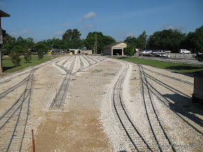 Photo: The passenger station bypass track installed this last week by Bill Howe.  HALS 2009-0620