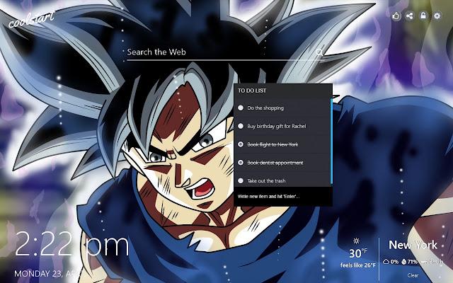 Goku Hd Wallpapers Dragon Ball Super Theme